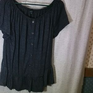 NWOT Lucky Brand Plus Size Top